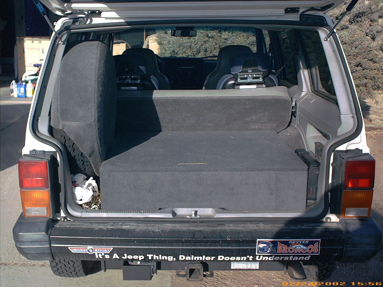 Jeep Box Rear Storage Box