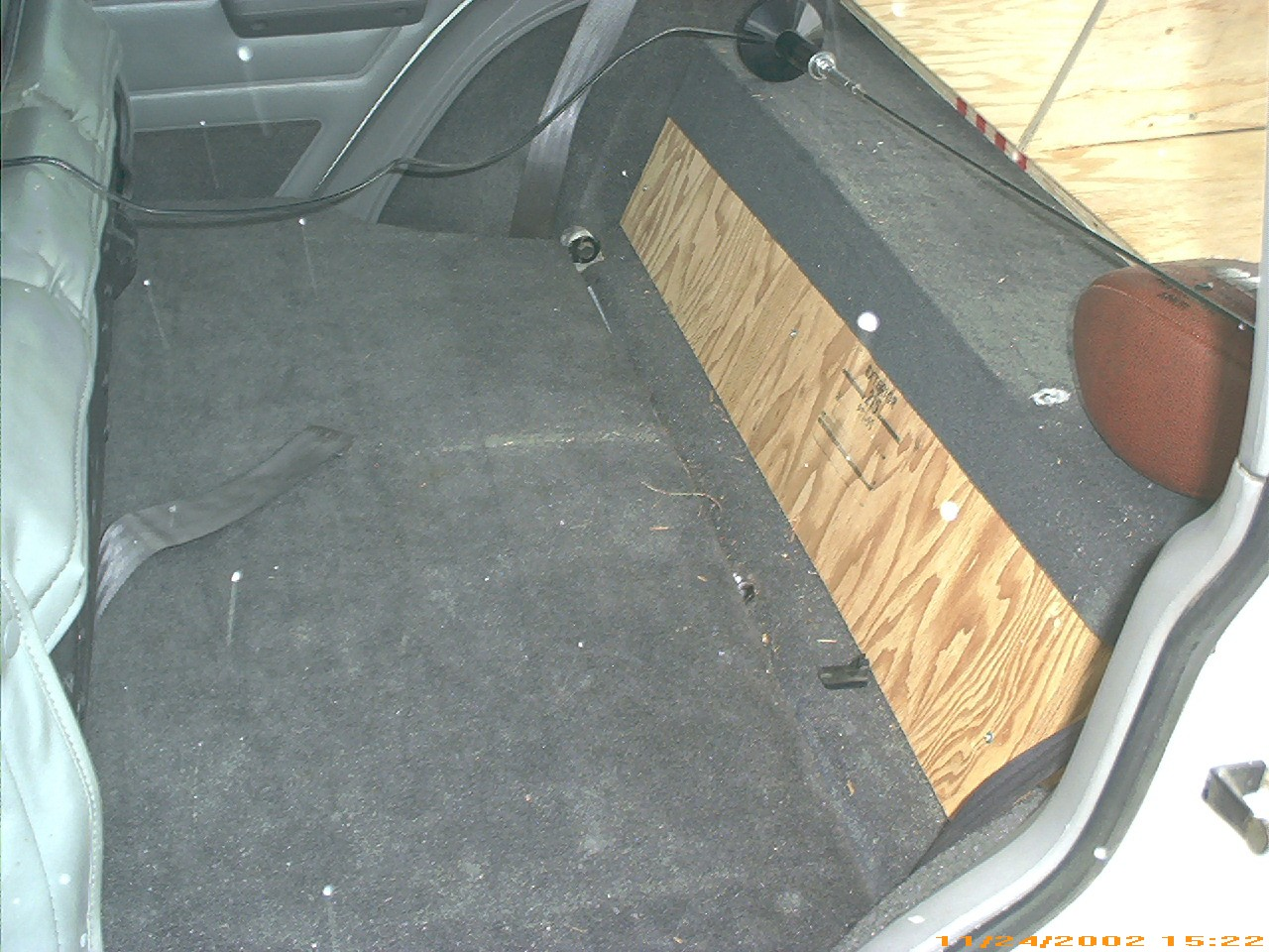 Yucca Man Xj Cargo Box Jeep Cherokee Dimentions Platform Stowed Behind Seat Rear Folded You Can See The Ledge Made By Original