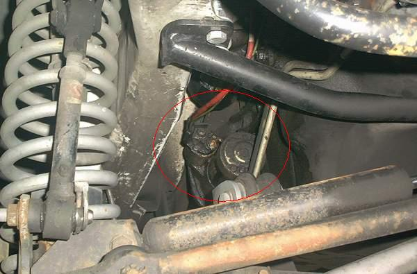 yucca man changing a 4 0l starter Jeep Wrangler Brake Diagram this is what we have to reach