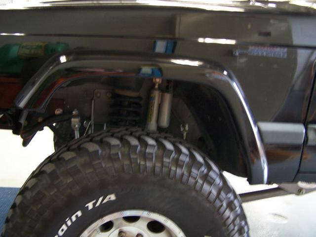 Jeep Tj Fender Flares >> Front Fender Trim Write Up (Retaining the stock flare)