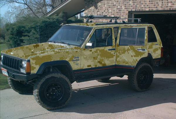 camo how is it done naxja forums north american xj association